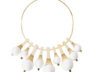 mostra_homi_milano_designer_may-moma_geasphere_pe2016_collana_ottone-dorato-resina-cristalli-swarovski