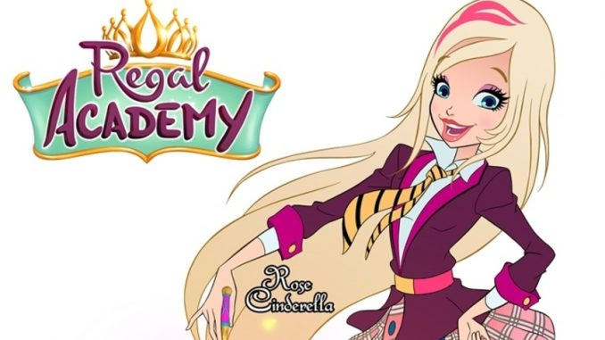 Trama e personaggi cartoon Regal Academy