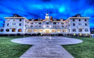 Stanley Hotel nella notte