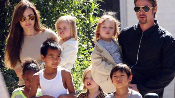 angelina jolie terapia con figli