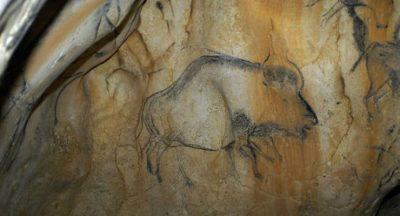 Dipinto rupestre nelle Grotte di Marsoulas