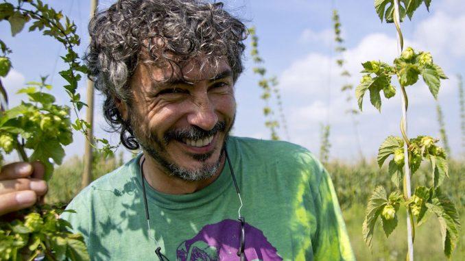 Teo Musso, il promotore della campagna crowdfunding per il Baladin Open Garden.
