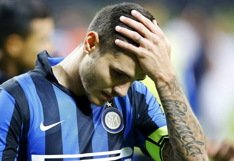 Icardi e il momento no dell'Inter
