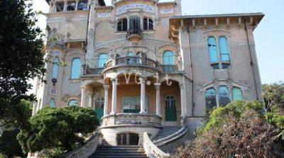 Villa liberty in abbandono