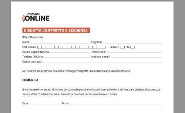 Disdetta Mediaset Premium: Moduli, Indirizzi, Penali, Contatti