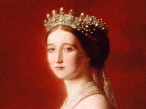 L'Imperatrice Eugenia dei Francesi, che  usò la Ferrovia Fell