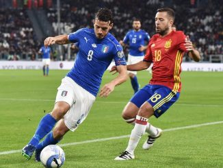 FIFA World Cup 2018 qualification match Italy vs Spain