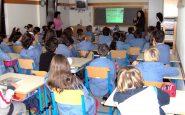 Interno dell'aula di una scuola