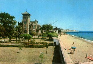 Villa abbandonata vicino al mare
