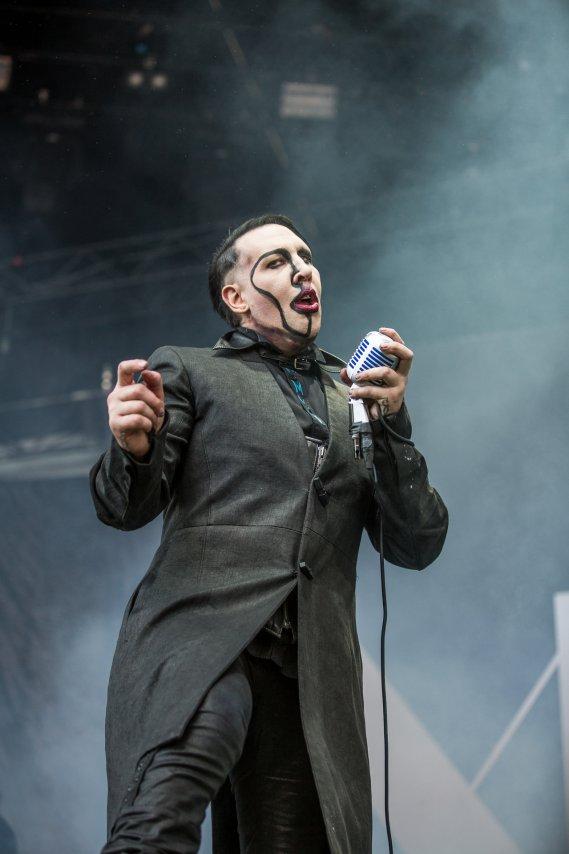 Marilyn Manson: due date in Italia a luglio 2017