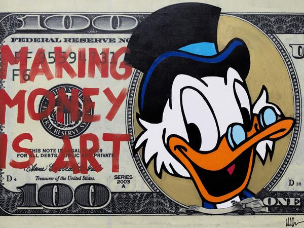 """ Marco Bettini. Making is Money Art"" a Roma"
