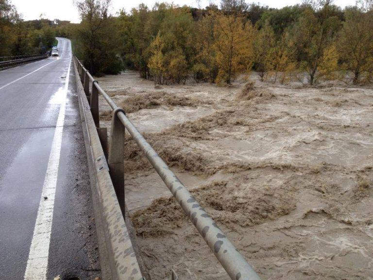 Allerta meteo, si teme per il fiume Secchia in Emilia Romagna