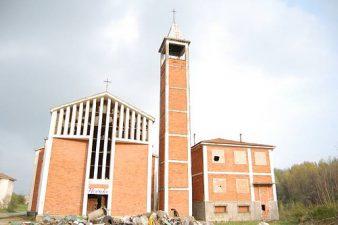 Chiesa di Brusaschetto di fronte
