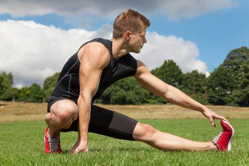 Come riscaldare i muscoli prima di una partita