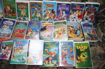 Collezione VHS Disney, anni '90