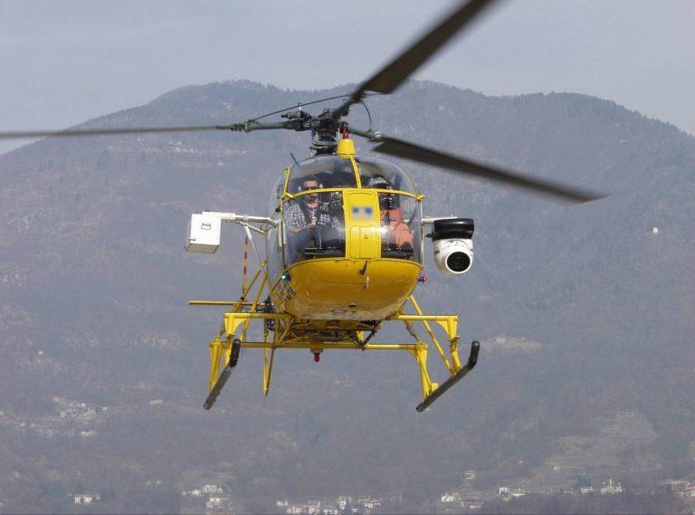 Nuovo sitesma di rilevamento infrazioni: multe dall'alto con l'elicottero Pegasus