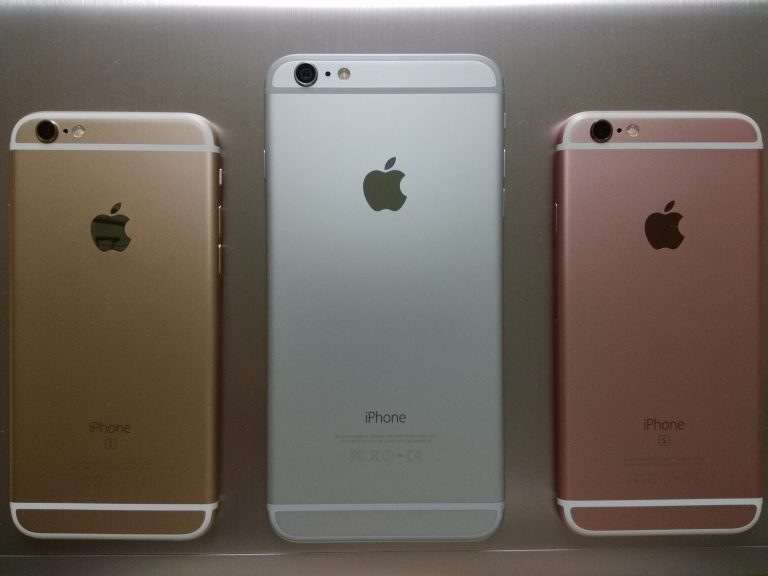 IPhone bianco lucido