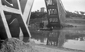 Vecchia foto del ponte