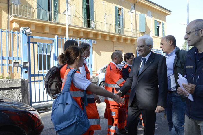 Terremoto centro Italia: Mattarella incontra gli sfollati