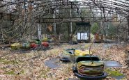 Parco Divertimenti in centro città a Pripyat (Ucraina)