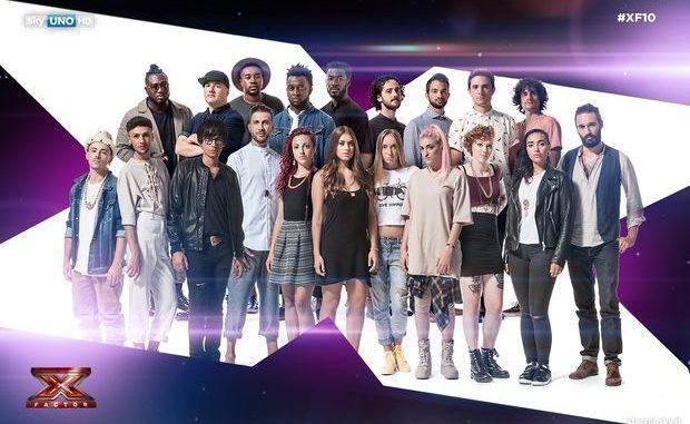 X Factor, le assegnazioni dei brani ai concorrenti del talent