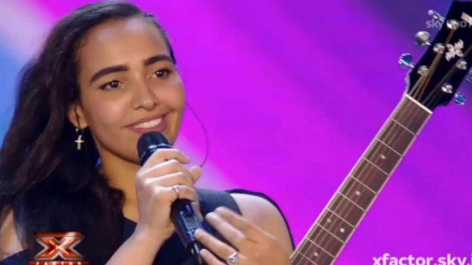 X factor, le prime parole di Alessandra Silva Fortes