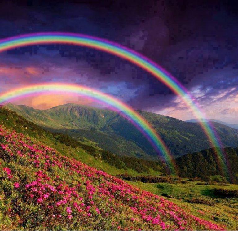 Arcobaleno: quali sono i colori