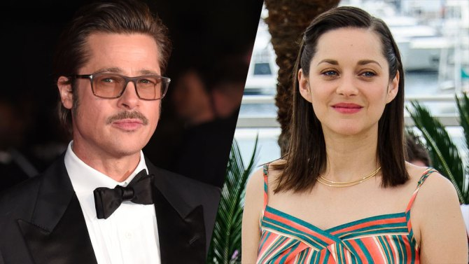 Brad Pitt e Morion Cotillard: lei incinta sul red carpet