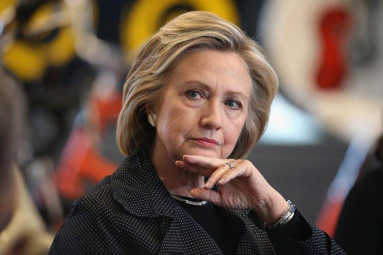 Hilary Clinton sconfitta