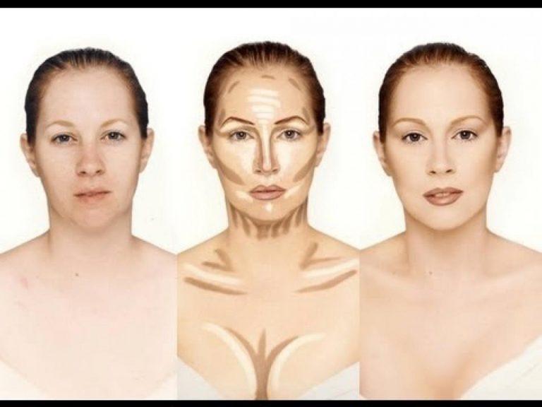 Come fare contouring per viso tondo