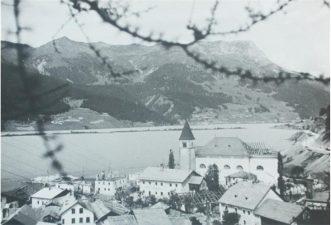 Vecchia immagine del paese