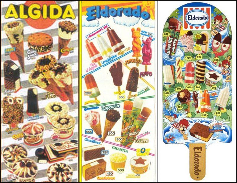 I gelati più famosi degli anni 80