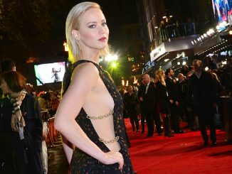 """Photo by: KGC-42/STAR MAX/IPx 11/5/15 Jennifer Lawrence at the premiere of """"The Hunger Games"""" Mockingjay - Part 2"""". (London, England)"""
