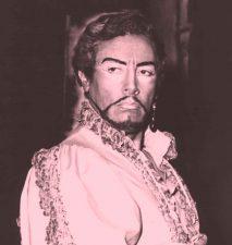 Il tenore Mario Del Monaco