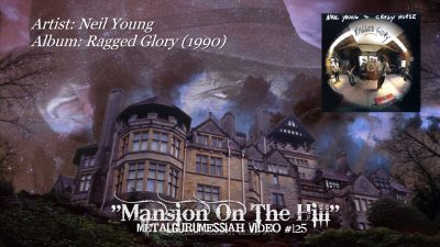 "Copertina dell'album di Neil Young che contiene ""Mansion On A Hill"""
