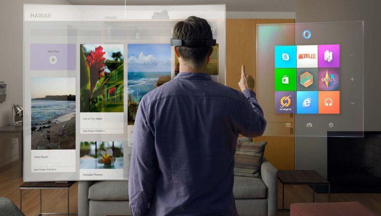 Occhiali realtà aumentata Microsoft, Ps4, prezzo