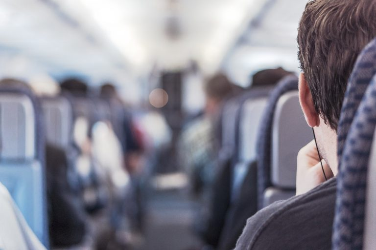 Dormire sull'aereo