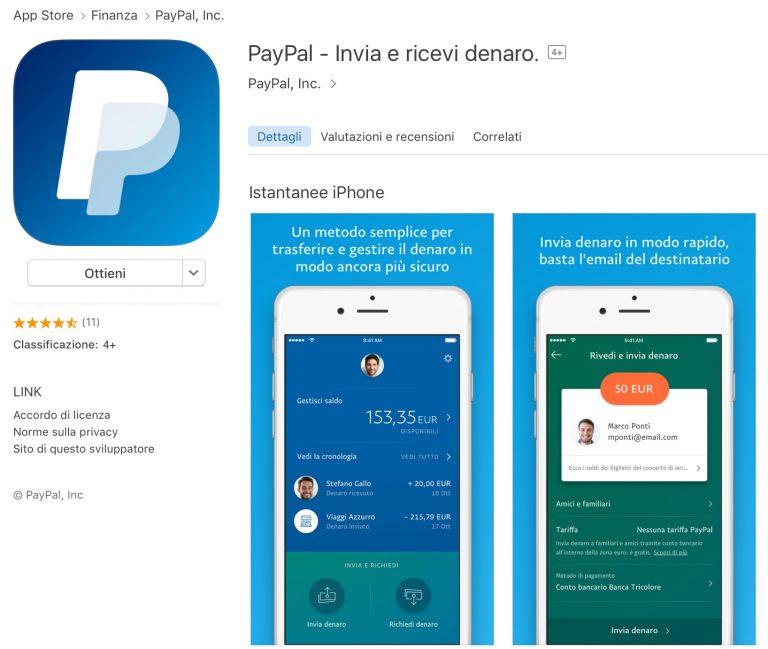 PayPal IOS