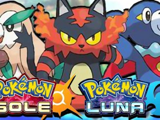 pokemon sole luna