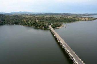 Ponte Diana sul Lago Coghinas