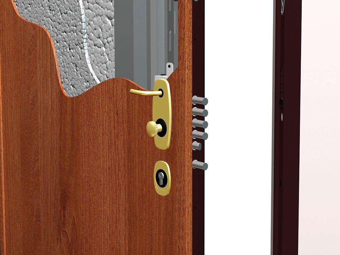 Porta blindata le migliori marche in commercio - Maniglia per porta blindata ...
