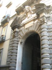 Portale di Palazzo Sansevero