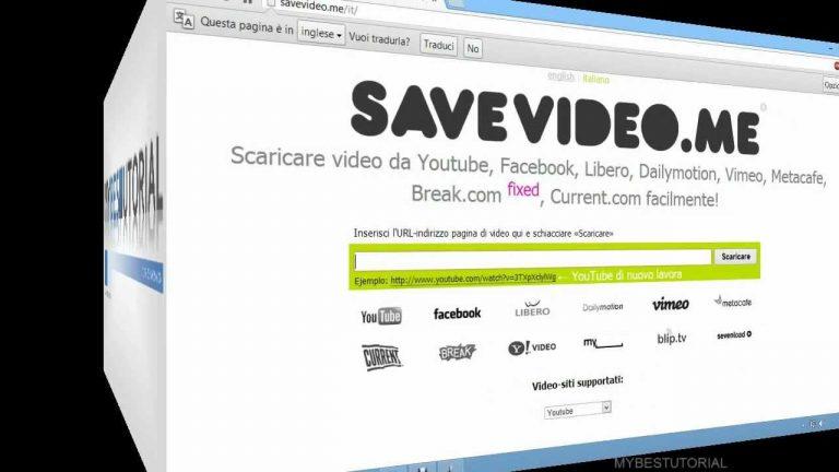 scaricare video da qualunque sito web