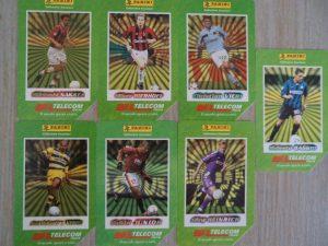 Schede telefoniche dei calciatori, anni '90