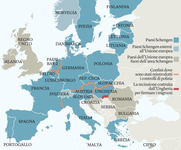 Area Schengen: l'ingresso costerà 5 euro