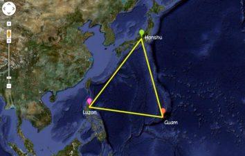 Cartina del Triangolo del Drago