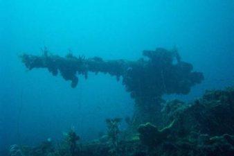 Altro relitto della Laguna di Truk