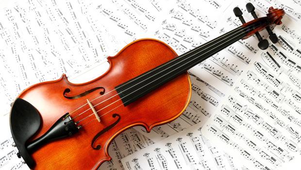 violino-con-tela-di-ragno
