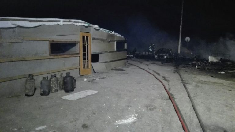 Foggia: rogo nella baraccopoli degli immigrati