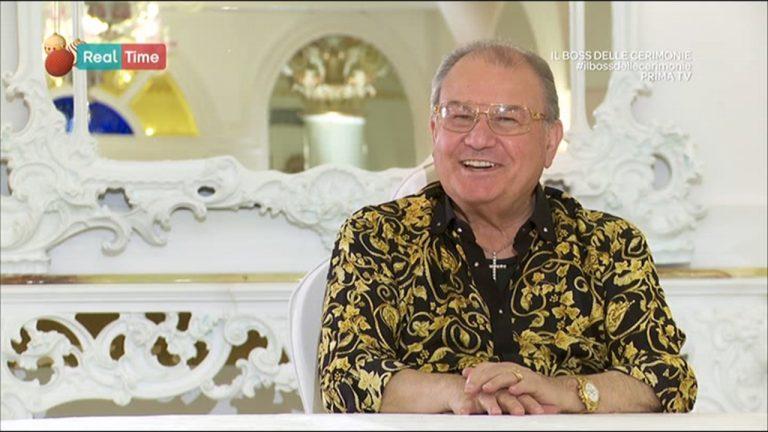 Il boss delle cerimonie: il suo saluto in un video